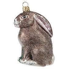 rabbit ornament wayfair
