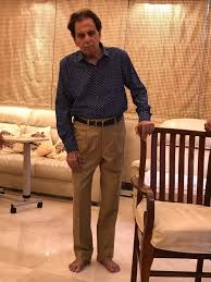actor dilip kumar hospitalized after he complained of swelling in