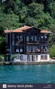 a luxury homes on the shore of the bosphorus the waterway which a luxury homes on the shore of the bosphorus the waterway which joins the mediterranean the black sea istanbul turkey