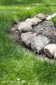 Rock For Garden How To Maintain A Garden Rock Border On Sutton Place