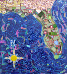 Map Of Florida by Mosaic Map Of Florida This Is A Recent Project From My Mos U2026 Flickr