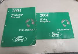2004 ford thunderbird service repair workshop manual set