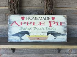 primitive sign hand painted sign kitchen decor rustic sign