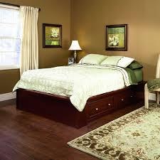 Storage Platform Bed Amazon Com Sauder 413998 Palladia Platform Bed Section Queen
