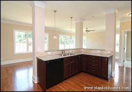 Dark Kitchen Cabinets Light Countertops Dark Cabinets With Light Granite Best Color Combinations Photos