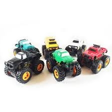 monster jam truck theme songs amazon com boley monster pullback trucks mini 12 pack friction