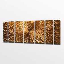 wall art ideas design frame listening copper wall art home decor