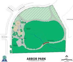 map of arbor arbor park waukegan park district