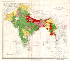 Nepal India Map by Survey Of India Report Maps