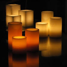3 candle electric light hardwired electric candles system holders included 12 96 led pack