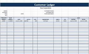 Journal Entry Template Excel Account Ledger Template General Ledger For Dummies With Pictures