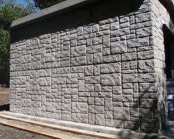 Concrete Block Garden Wall by Concrete Walls U0026 Foundations Lewallen Construction