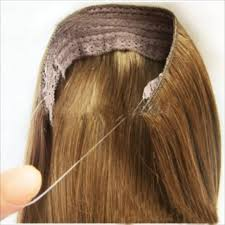 headband hair extensions remy grade a human hair wire headband extension from april s