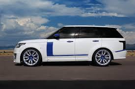 range rover white range rover lumma clr r white and blue topcar