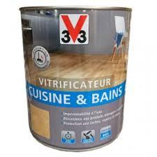 v33 cuisine et bain v33 vitrificateur cuisine bains incolore mat pas cher en ligne