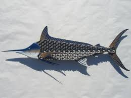 zspmed of metal fish wall art