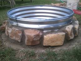 Chiminea Cover Lowes by Diy Firepit For 20 Buy A 15 Gallon Wash Pail From Lowe U0027s They