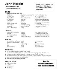 Resume Accent Mark Resume