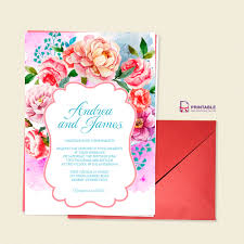 free to download pdf invitation template beautiful vintage