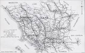 Concord California Map Contra Costa County
