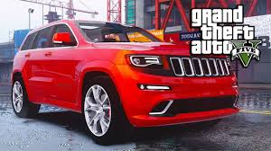 jeep grand cherokee 2016 gta v mods jeep grand cherokee 2016 youtube