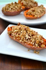 best yam recipes thanksgiving twice baked yams with oat streusel topping little bits of