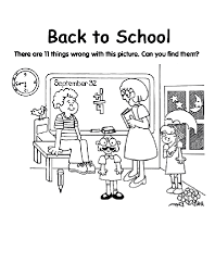 Coloring Page Of A School Back To School Coloring Page Crayola Com by Coloring Page Of A School