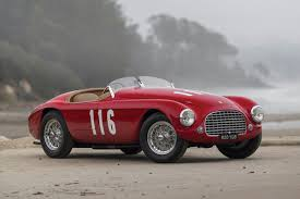 rare ferrari a close look at the incredibly rare 1950 ferrari 166 mm barchetta