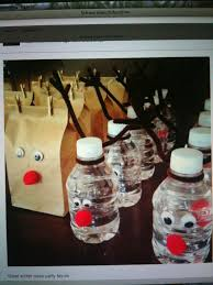 christmas table favors to make snowmen party favors make into snowman winter class party