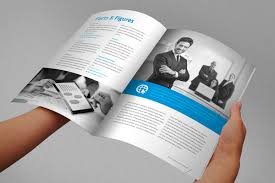 indesign templates free brochure annual report brochure indesign template by braxas mora via