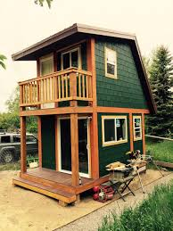 tiny house with two stories amazing structure in such a small