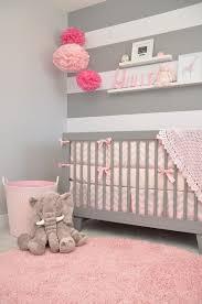 chambre grise et poudré relooking et décoration 2017 2018 chambre bébé fille gris et