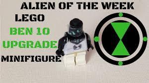 build lego ben 10 upgrade minifigure alien week