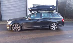 mercedes c class roof bars the journey center thule guard and rhino official stockists