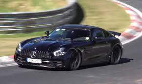 black mercedes black mercedes amg gt r does nurburgring passes autoevolution