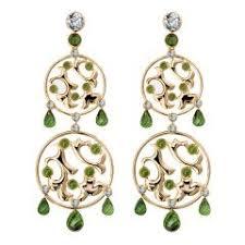 Chandelier Gold Earrings H Stern Spring Pink Tourmaline Chandelier Gold Earrings For Sale