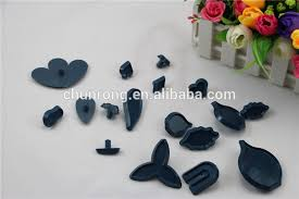 plastic gum paste flower cutters for cake icing 79pcs cake