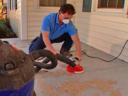 Painting A Cement Patio by How To Stamp A Concrete Porch Floor How Tos Diy