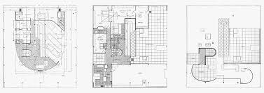plan villa plan villa savoye charming villa savoye floor plan 5