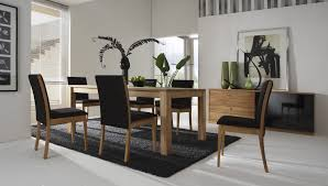Gray Leather Dining Chairs Contemporary Dining Room Table Sets Gray Carpet On White Ceramic