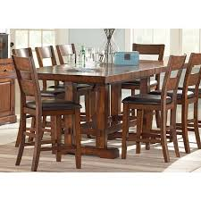 Loon Peak Matterhorn Counter Height Dining Table  Reviews Wayfair - Oak counter height dining room tables