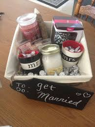bridal shower gift baskets bridal shower basket ideas for a gift abetterbead gallery of
