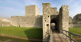 history of portchester castle english heritage