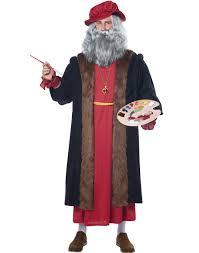 Italian Halloween Costume Leonardo Da Vinci Italian Renaissance Artist Halloween