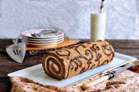 utry it decorated coffee swiss roll with step by step pictorial