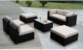 Comfortable Patio Furniture Wicker Patio Furniture Design For Comfortable Outdoor Seating