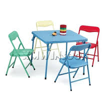 american kids 5 piece wood table and chair set kids fold up table and chairs awesome folding table and chair set