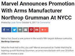 Northrop Grumman Resume Marvel Comics Archives Bent Corner