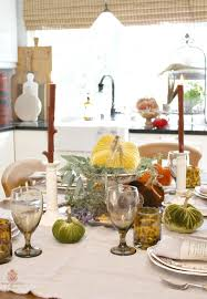 Interior Design Tricks Of The Trade How To Style A Dramatic French Country Fall Table