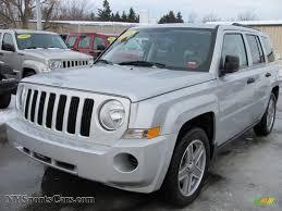 dark gray jeep patriot 2008 jeep patriot sport 4x4 in bright silver metallic 634191